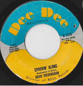 Used - Rockingham, David ‎– Groovin Along - 7""