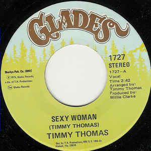 Used - Thomas, Timmy ‎– Sexy Woman - 7""