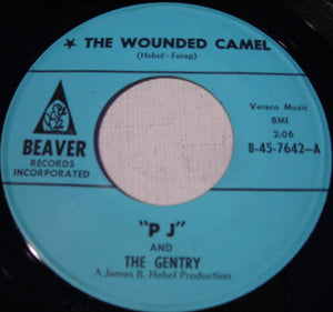 Used - PJ & The Gentry - The Wounded Camel 7""