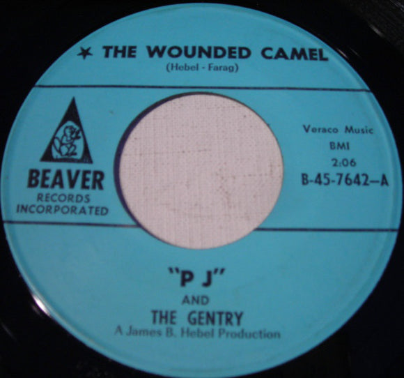 Used - PJ & The Gentry - The Wounded Camel 7