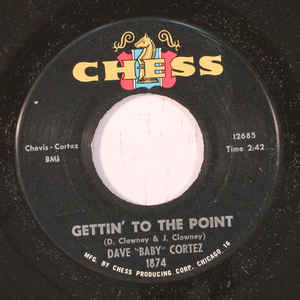 "Used - Cortez, Dave ""Baby"" ‎– Happy Feet / Gettin' To The Point - 7"""