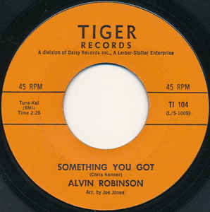 Used - Robinson, Alvin ‎– Something You Got / Searchin' - 7""