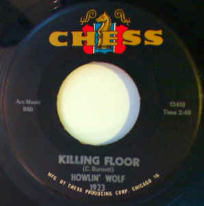 Used - Howlin' Wolf ‎– Killing Floor / Louise - 7