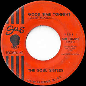 Used - Soul Sisters ‎– Good Time Tonight  - 7""