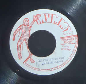 Used - Paris, Jackie ‎– Leave Me To Cry - 7""