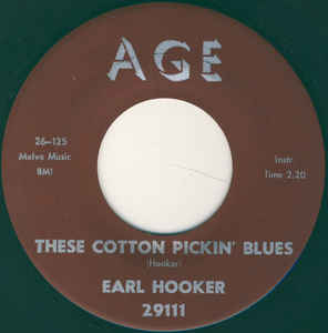 Used - Hooker, Earl - Cotton Pickin' Blues - 7