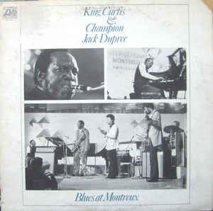 King Curtis & Champion Jack Dupree - Blues At Montreux - LP