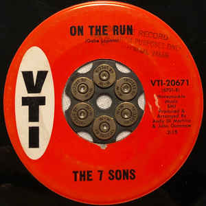 Used - 7 Sons ‎– On The Run - 7""