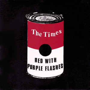 New - The Times - Red With Purple Flashes - 7