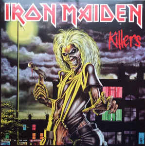 Used - Iron Maiden - Killers - LP