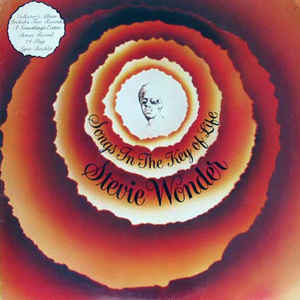 Used - Stevie Wonder - Songs In The Key Of Life - LP