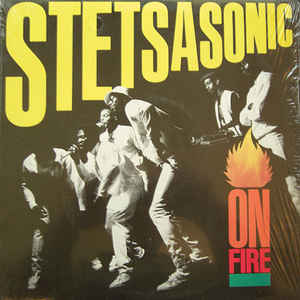 Used - Stetsasonic - On Fire - LP