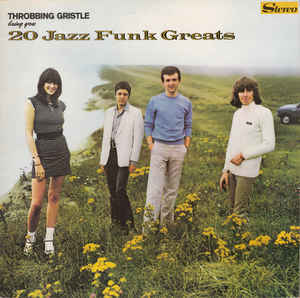 Used - Throbbing Gristle - 20 Jazz Funk Greats - LP