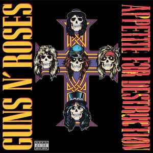 Guns & Roses - Appetite For Destruction - LP