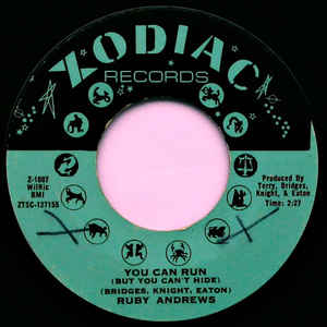 Andrews, Ruby - You Can Run (But You Can't Hide) - 7""