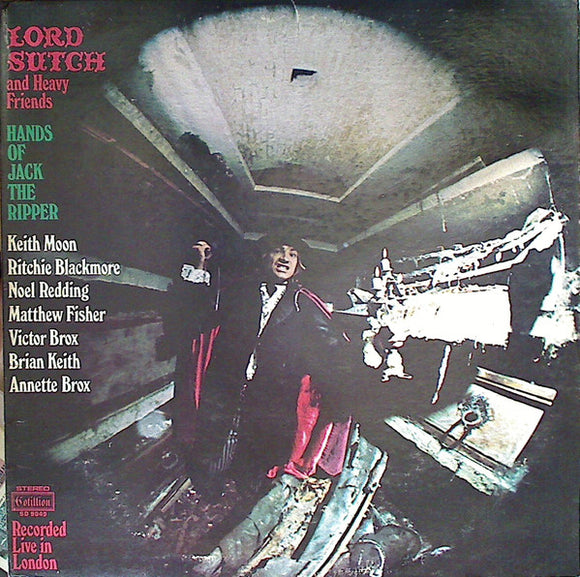 Used - Lord Sutch And Heavy Friends ‎– Hands Of Jack The Ripper - LP