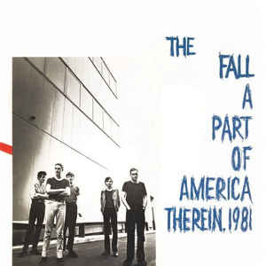 Used - The Fall - A Part Of America Therin, 1981 - LP