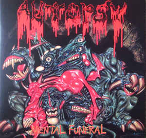 Used - Autopsy - Mental Funeral - LP