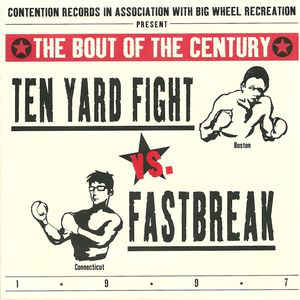 Used - Ten Yard Fight/Fastbreak - Split - 7""