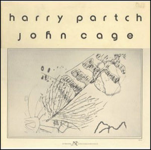 Used - Partch, Harry and John Cage - The Music Of John Cage And Harry Partch - LP