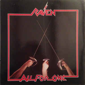 Used - Raven - All for One - LP