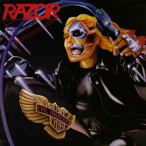 Used - Razor - Evil Invaders - LP
