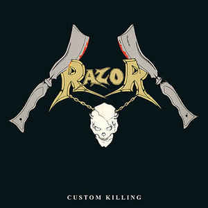 Used - Razor - Custom Killing - LP