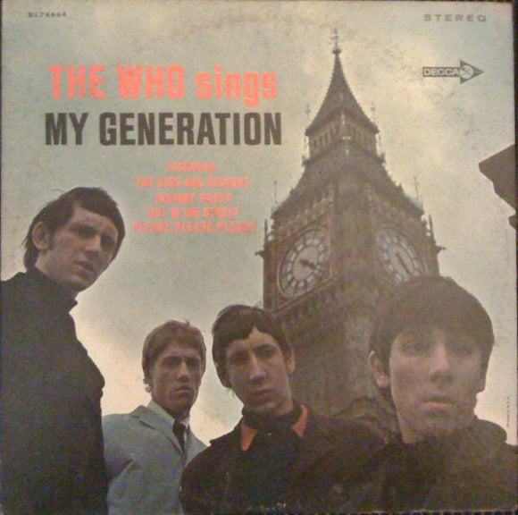 Used - Who - The Who Sings My Generation - LP