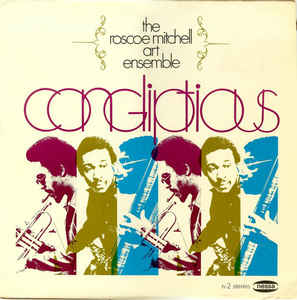 Mitchell, Roscoe Art Ensemble - Congliptious - LP