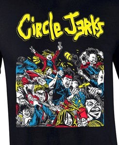 New - Circle Jerks BiFocal Media - Shirt