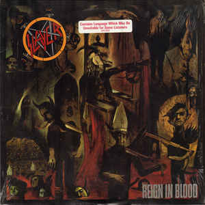 New - Slayer - Reign In Blood - LP