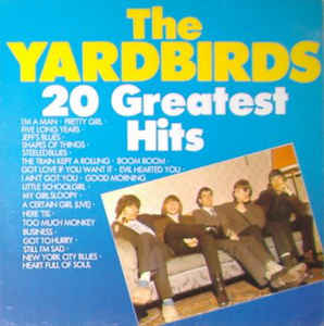 Used - Yardbirds - 20 Greatest Hits - LP
