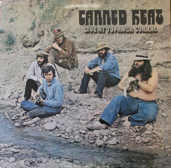 Used - Canned Heat - Live at Topanga Corral - LP