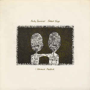 Fripp, Robert & Andy Summers - I Advance Masked - LP