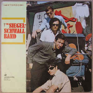 The Siegal-Schwall Band - Self Titled - LP