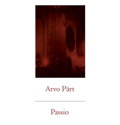 New - Part, Arvo - Passio - 2xLP