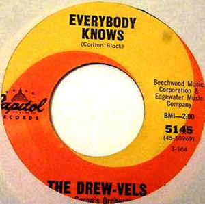 Used - The Drew-Vels - Everybody Knows - 7""
