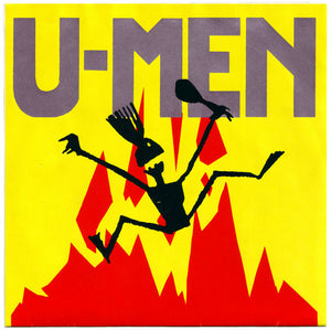 Used - U-Men ‎– Solid Action / Dig It A Hole - 7""