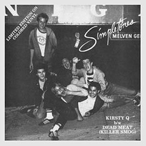 "Used - Simpletones ‎– Kirsty Q b/w Dead Meat (Killer Smog) - 7"" (Red)"
