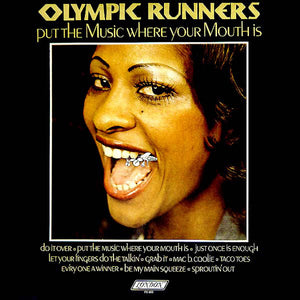 Used - Olympic Runners ‎– Put The Music Where Your Mouth Is - LP