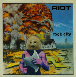 Used - Riot - Rock City - LP
