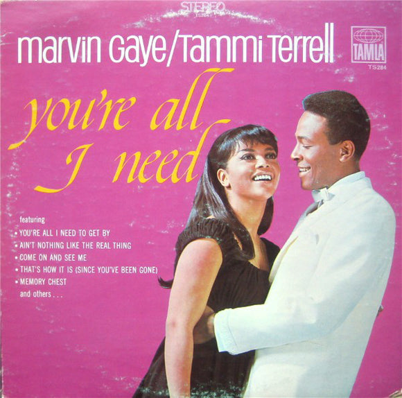 Used - Gaye, Marvin & Tammi Terrell ‎– You're All I Need - LP