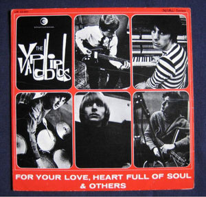 Used - Yardbirds ‎– For Your Love, Heart Full Of Soul & Others - LP
