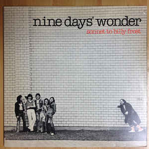 Used - Nine Days Wonder - Sonnet To Billy Frost - LP