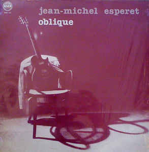 Used - Esperet, Jean-Michel - Oblique - LP