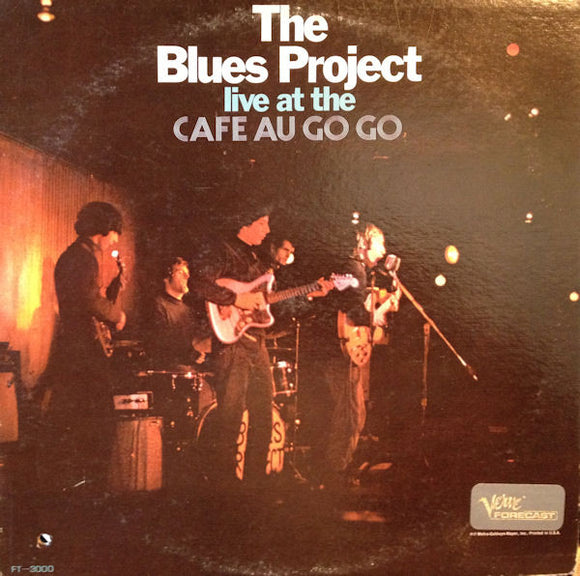 Used - Blues Project ‎– Live At The Cafe Au Go Go