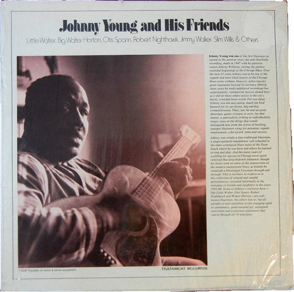 Used - Young, Johnny ‎– Johnny Young And His Friends - LP