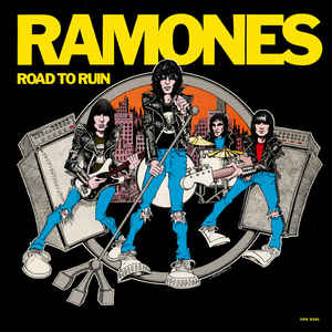 Used - The Ramones - Road To Ruin - LP