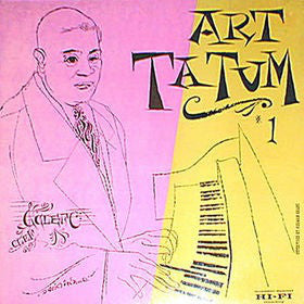 Used - Tatum, Art ‎– The Genius Of Art Tatum #1 - LP