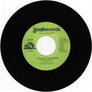 Used - The Asteroids - Life on a Asteroid - 7""